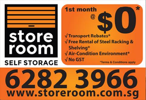 Storage Space Singapore Promotion